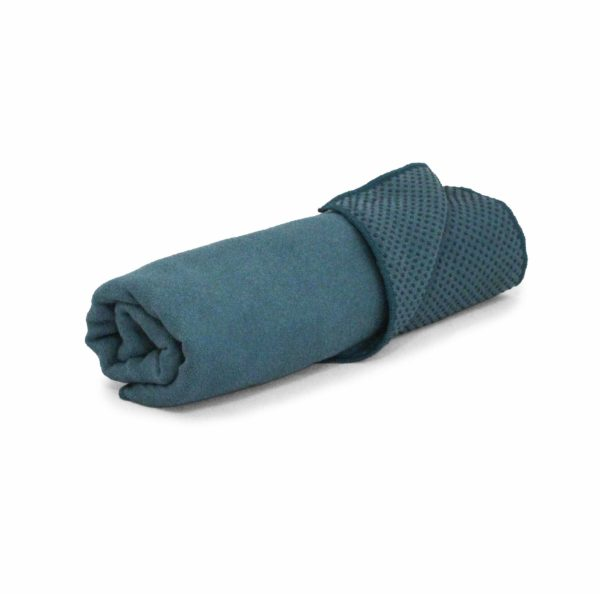 Yoga Tuch in Blau