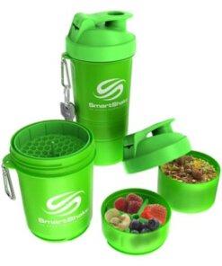 Smartshake Neon Grün ausgelegt