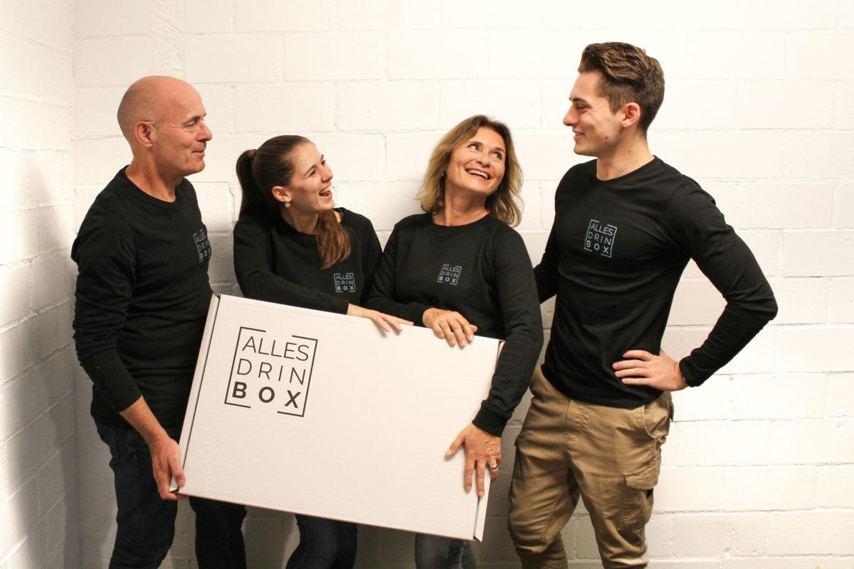 Allesdrinbox Team Family funny
